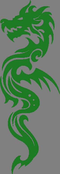 дракон скорпионы наклейки
