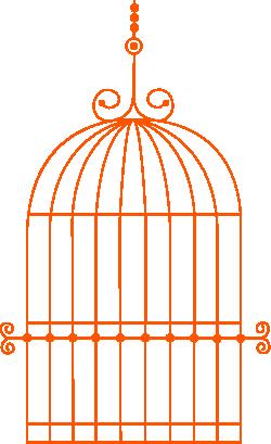 Клетка для попугая раскраска 173