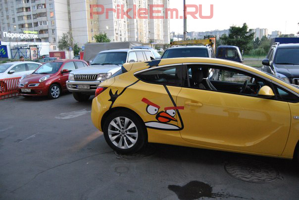 Opel astra Angry Birds