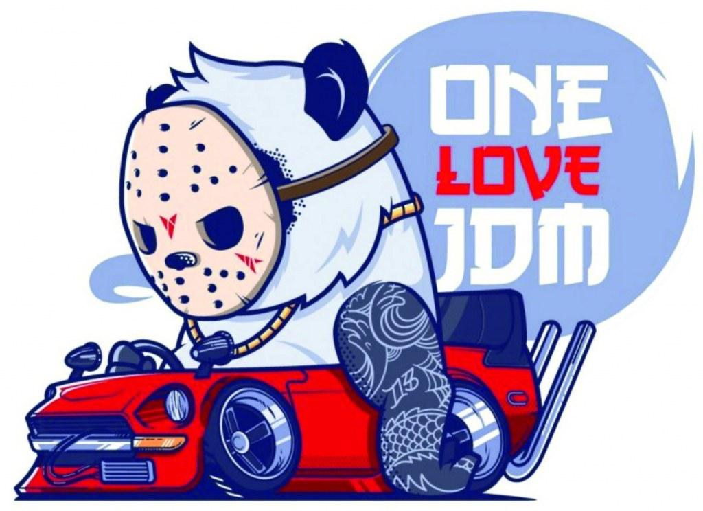 One love JDM logo