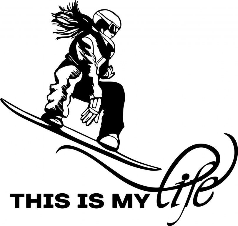 This is my life. Snowboard. Сноуборд девушки