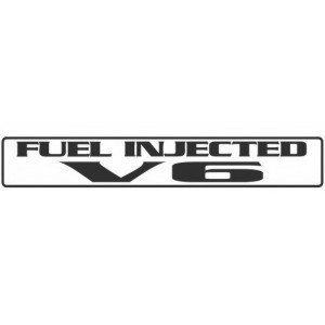 FUEL INJECTED V6